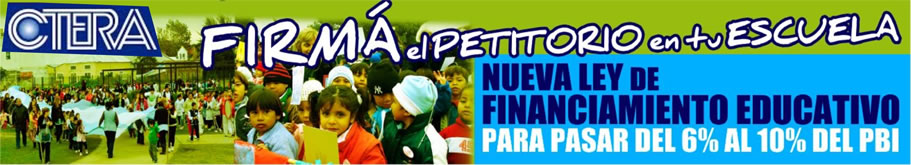 Campaña financiamiento educativo
