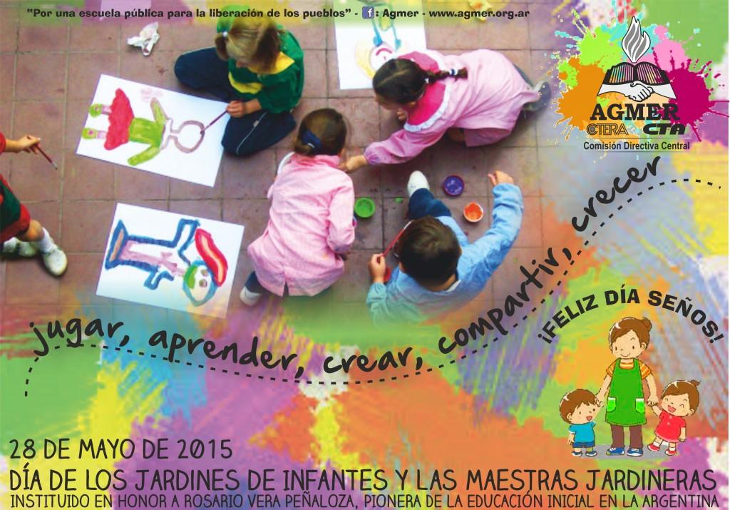 28 de mayo d a de los jardines de infantes y de las for Los jardines de la cartuja