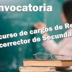 concurso rector vice secundaria