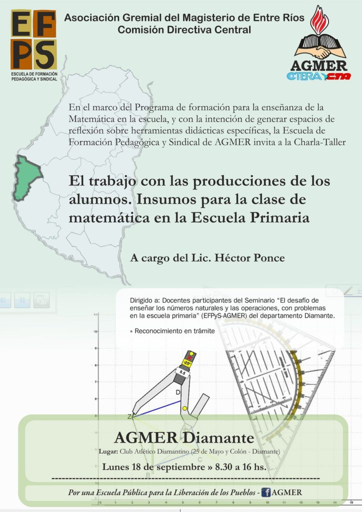 Charla taller de Héctor Ponce en Diamante