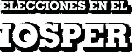Elecciones en IOSPER