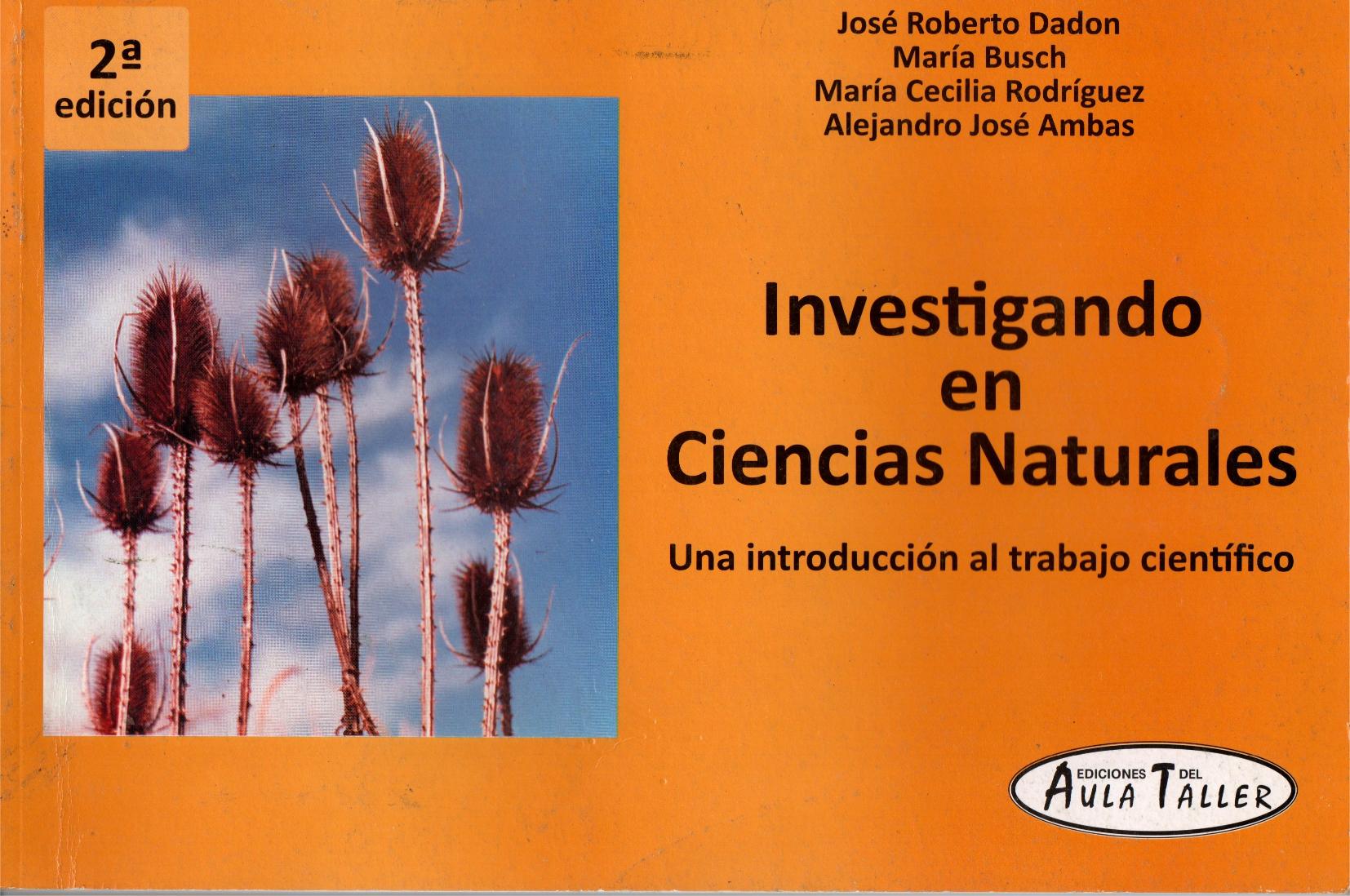 Investigando en Ciencias Naturales